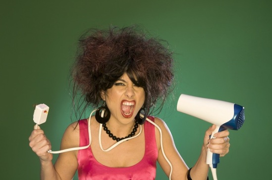 Why woman hate frizzy hair